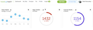 MisFit Shine Review - Integrating with the Heads Up Health dashboard