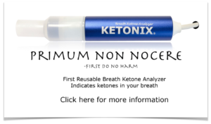 Breath ketones - ketonix