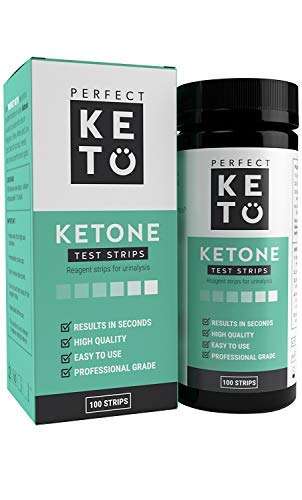 Urine test strips for ketosis