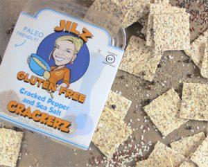PaleoFX products - Jilz gluten-free crackers