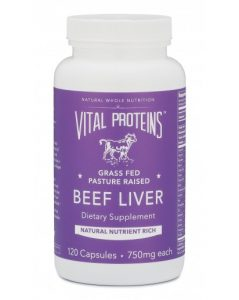 PaleoFX Products - Vital Proteins Beef Liver Capsules