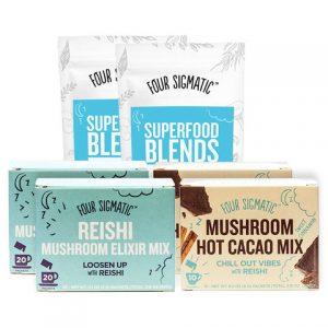 PaleoFX products - Four Sigmatic Mushrooms
