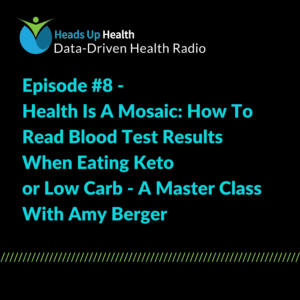 Episode 8 How to Read Blood Test Results when Eating Keto or Lowcarb - A Master Class with Amy Berger