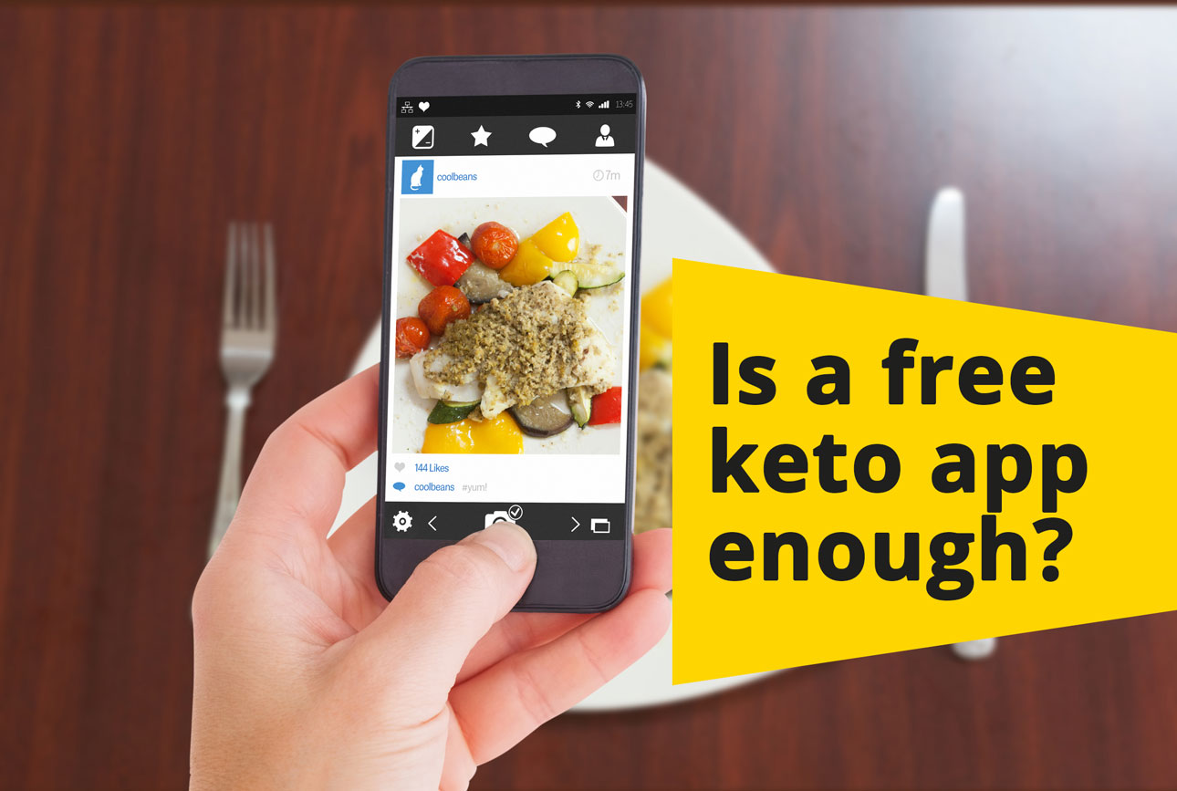 best apps on iphone to support ketogenic diet