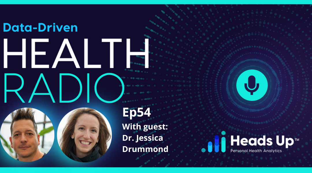 Ep. 54 – How Dr. Jessica Drummond of Integrative Women's Health Institute is Using HRV, Functional Nutrition and Health Coaching for Better Health Outcomes