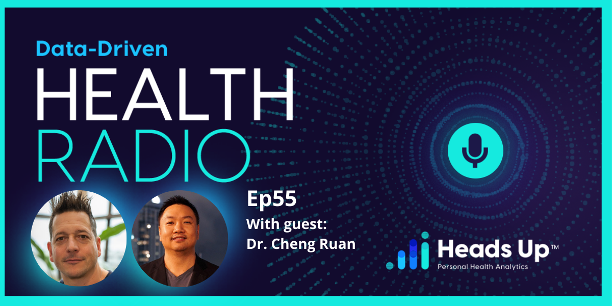 Dave Korsunsky of Heads Up Health and Dr. Cheng Ruan of the Texas Center for Lifestyle Medicine discuss remote patient monitoring